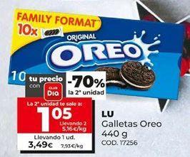 Oferta de Galletas Oreo Lu por 3,49€