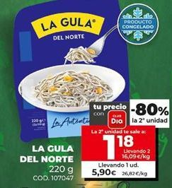 Oferta de Gulas La Gula del Norte por 1,18€