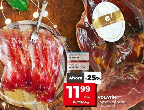 Oferta de Jamón serrano por 11,99€
