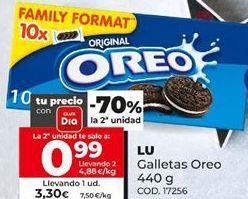 Oferta de Galletas Oreo por 3,3€