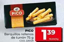 Oferta de Snacks por 1,39€