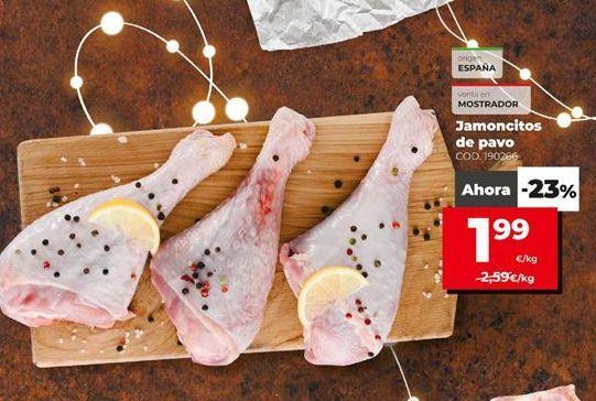 Oferta de Jamoncitos de pollo por 1,99€