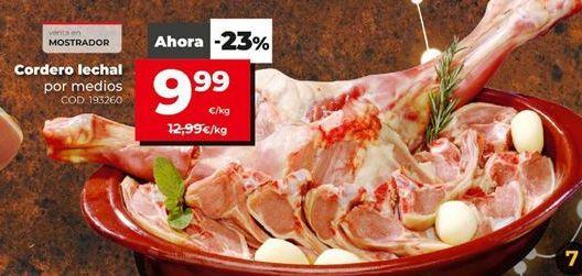 Oferta de Cordero lechal por 9,99€