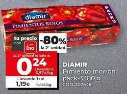 Oferta de Pimientos Diamir por 1,19€