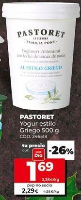 Oferta de Yogur griego por 1,69€