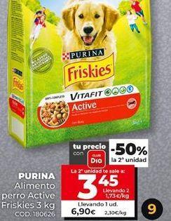 Oferta de Comida para perros Friskies por 6,9€