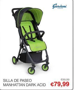 Oferta de Sillas de paseo Giordani por 79,99€