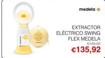 Oferta de Extractor de leche Medela por 132,92€