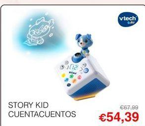 Oferta de Juguetes interactivos Vtech por 54,39€