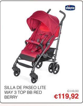 Oferta de Sillas de paseo Chicco por 119,92€