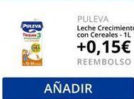 Oferta de PULEVA Leche crecimiento con cereales  por