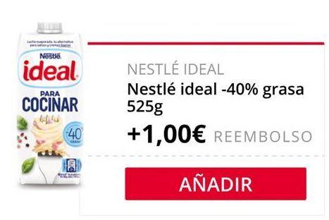 Oferta de Nestlé ideal -40% Grasa  por