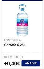 Oferta de Garrafa Font Vella  por