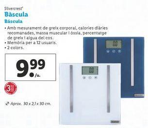 Oferta de Báscula SilverCrest por 9,99€