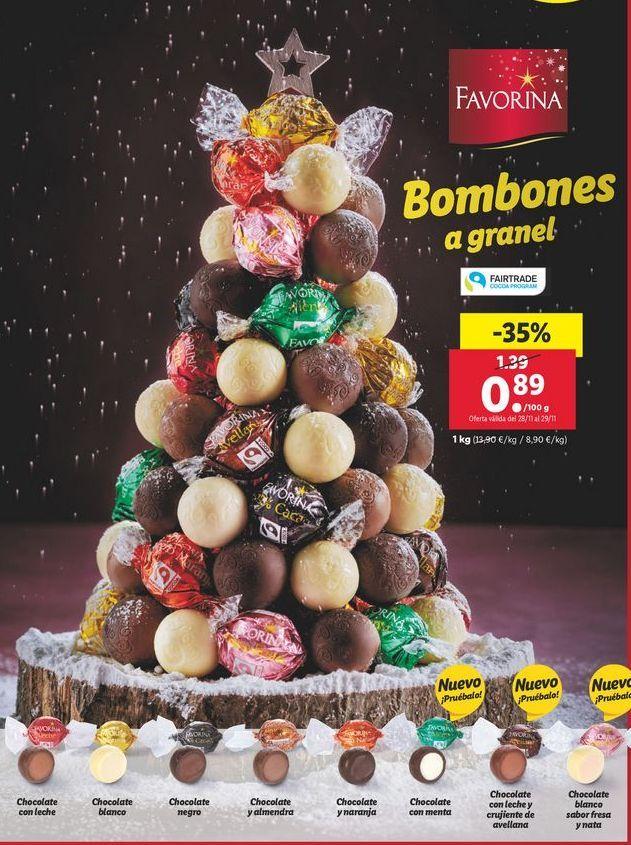 Oferta de Bombones Favorina por 0,89€