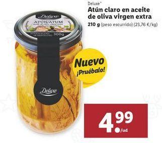 Oferta de Atún claro Deluxe por 4,99€
