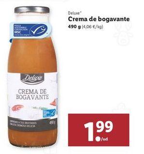 Oferta de Crema de bogavante Deluxe por 1,99€