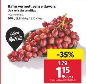 Oferta de Uvas por 1,15€