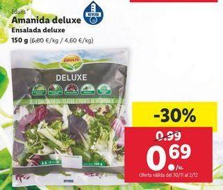 Oferta de Ensaladas edulis por 0,69€