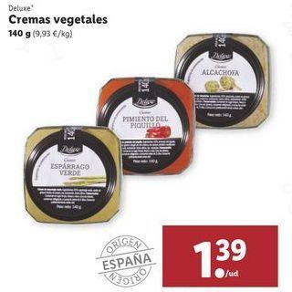 Oferta de Cremas vegetales Deluxe por 1,39€