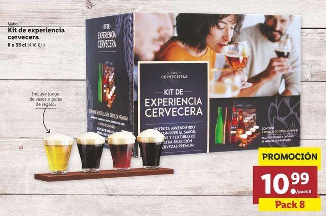 Oferta de Cerveza Mahou por 10,99€