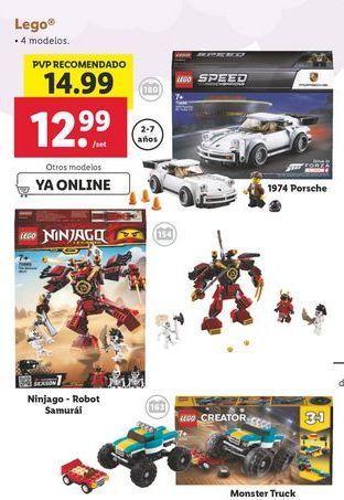 Oferta de Juguetes LEGO por 12,99€
