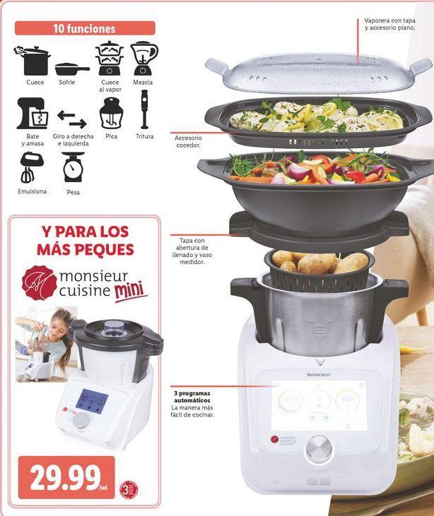 Oferta de Robot de cocina SilverCrest por 29,99€