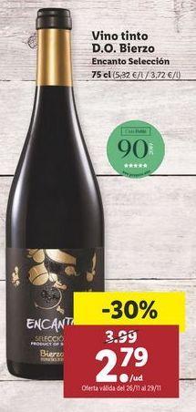 Oferta de Vino tinto por 2,79€