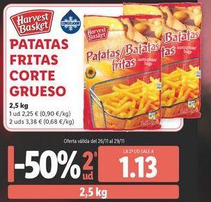 Oferta de Patatas fritas Harvest Basket por 2,25€