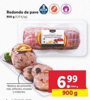 Oferta de Redondo de pavo por 6,99€