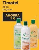 Oferta de Champú Timotei por 1€