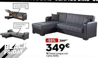 Oferta de Chaise longue con cama por 349€