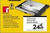 Oferta de Sandwichera bergner por 24,99€