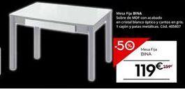 Oferta de Mesa por 119€