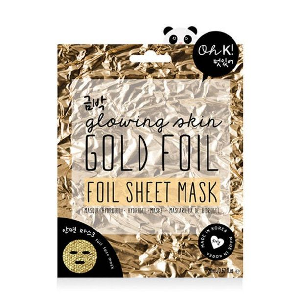 Oferta de Gold Foil Sheet Mask por 3,99€