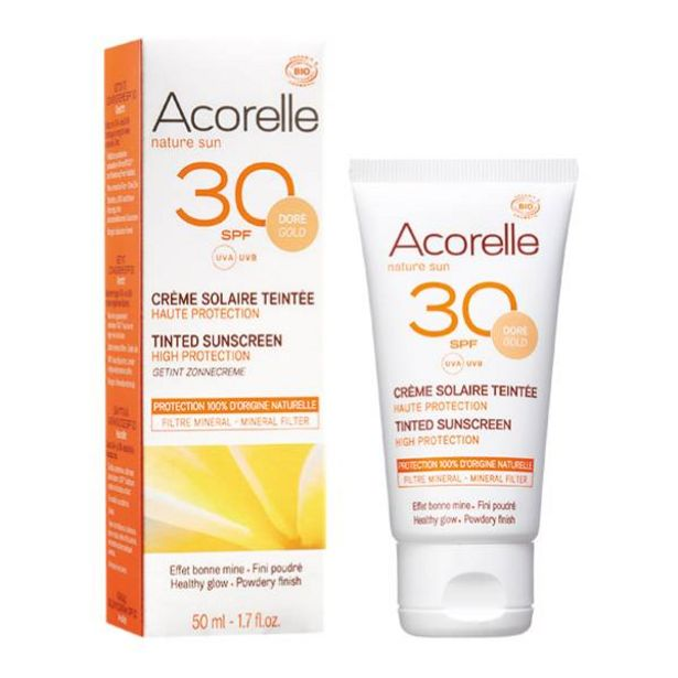 Oferta de Crema Facial Color Gold Spf 30 por 18,95€