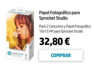 Oferta de Papel fotográfico HP por 32,8€