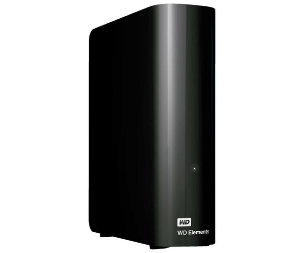 "Oferta de Disco duro externo 3TB WESTERN DIGITAL ELEMENTS, tamaño 3,5"", Usb 3.0, compatible con Windows y Mac. por 69,12€"