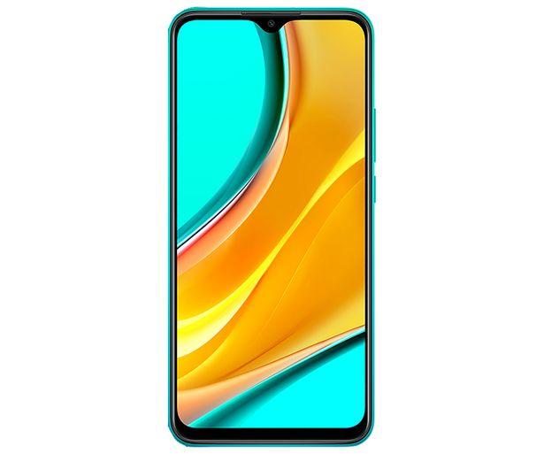 "Oferta de Smartphone 16,58cm (6,53"") XIAOMI Redmi 9 verde oceánico, Octa-Core, 4GB Ram, 64GB, microSD, 13+8+5+2 Mpx, Dual-Sim, MIUI 11 (Android 10) por 129€"
