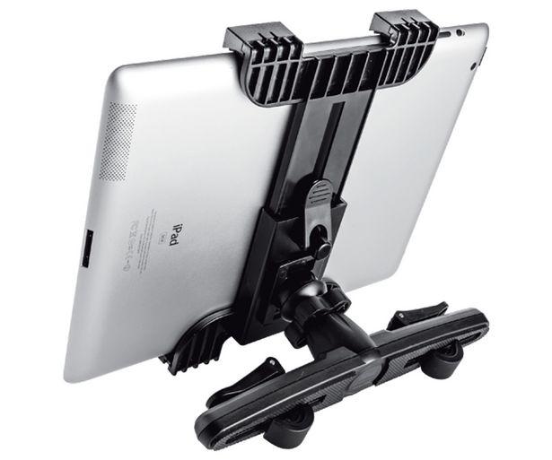 Oferta de Soporte coche universal Tablet TRUST, colocación en el cabecero del asiento. (tablet no incluido) por 19,9€