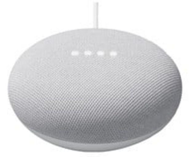 Oferta de Altavoz inteligente GOOGLE Nest Mini Tiza GA00638-ES (2ª generación). control por voz, Wi-Fi 802.11, Bluetooth 5.0, Google Cast. por 39€
