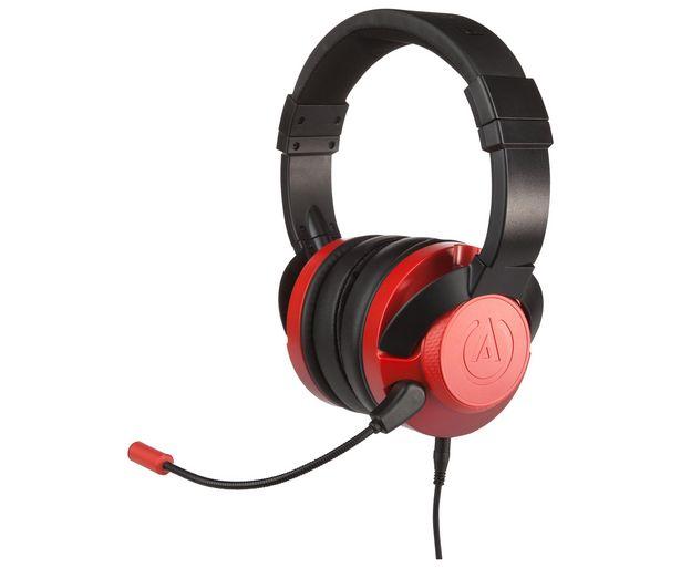 Oferta de Auriculares fusion gaming & music escarlata para PS4, Xbox One, Switch, PC, POWER A. por 27,99€