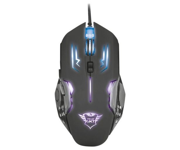 Oferta de Ratón gaming TRUST GXT 108 Rava, iluminado, 2000dpi, 6 botones, conexión Usb. por 15,9€