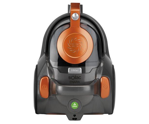 Oferta de Aspirador sin bolsa SOLAC AS3103, potencia 600W , filtro hepa antialérgico. por 59€