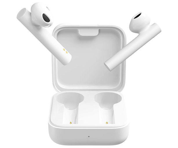 Oferta de Auriculares Bluetooth XIAOMI Mi True Wireless Earphones 2 Basic, control táctil, micrófono dual, autonomía hasta 20h. por 39,9€