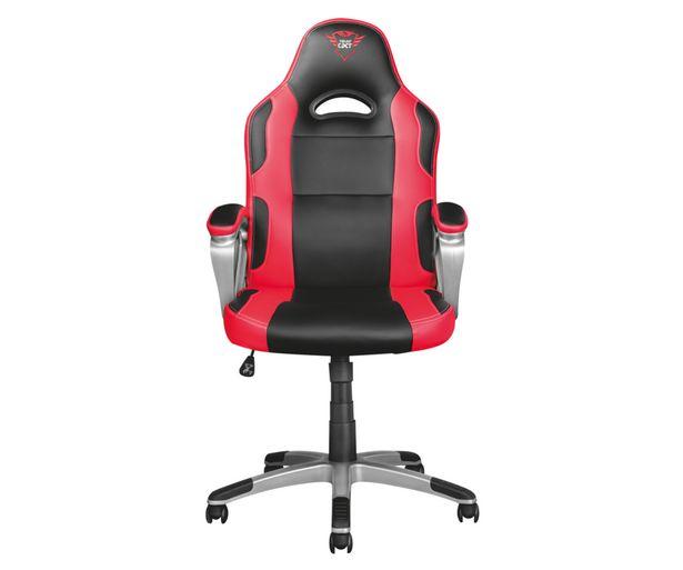 Oferta de Silla gaming TRUST GXT 705 Ryon, asiento reclinable, reposabrazos almohadillados, ruedas dobles. por 169,99€