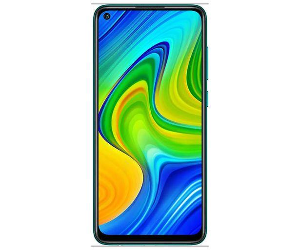 """Oferta de Smartphone 16,58cm (6,53"""") XIAOMI Redmi Note 9 gris medianoche, Octa-Core, 4GB Ram, 128GB, microSD, 48+8+2+2 Mpx, Dual-Sim, MIUI 11 (Android 10) por 169€"""