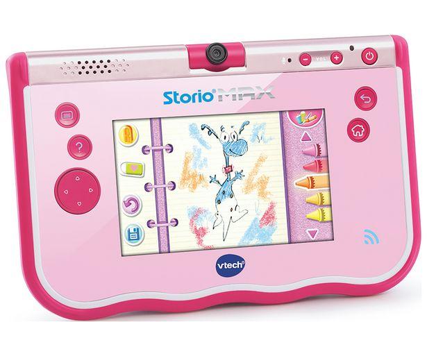 """Oferta de Tablet educativa multifunción de 5"""" color rosa Storio Max VTECH. por 29,67€"""