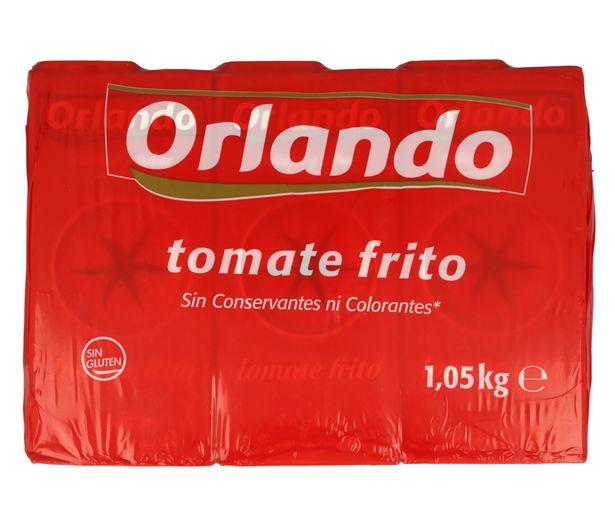 Oferta de Tomate frito ORLANDO brik de 3 uds x 350 g. por 1,95€