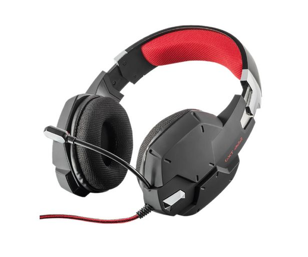 Oferta de Auriculares gaming TRUST GXT 322, micrófono, control volumen, conexión 3.5mm. Compatible PC / PS4 / XBOX ONE / SWITCH. por 39,9€